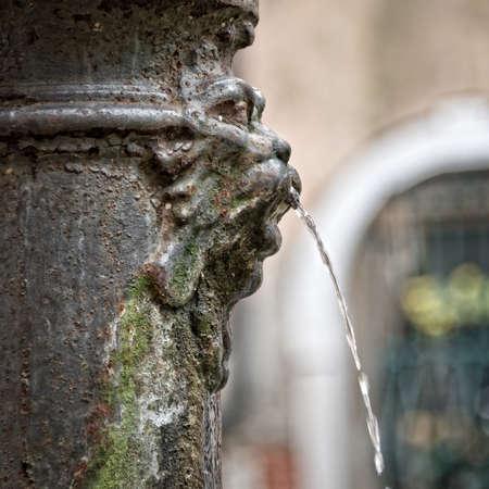 fountain: Lion fountain in Venice, Italy