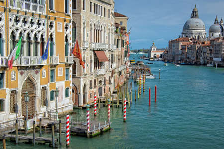 grand canal: Venice Italy, Grand Canal Stock Photo