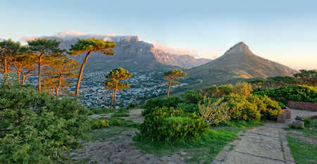 Signal Hill, Cape Town, South Africa Stock Photo