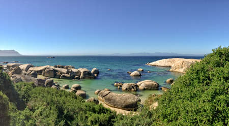south africa: Boulders beach, South Africa Stock Photo