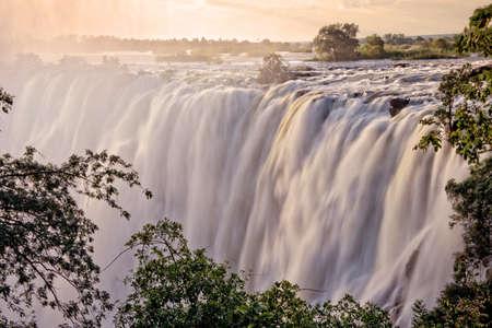 ヴィクトリアの滝、ザンビア