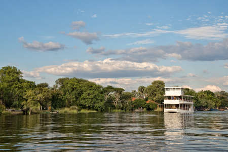 zambezi: Cruise on river Zambeze, Zambia