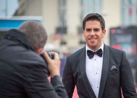 knock: Eli Roth attends the Knock Knock Premiere during the 41st Deauville American Film Festival, on September5, 2015 in Deauville, France Editorial