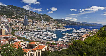 principality: Harbor of the Monaco principality, french riviera