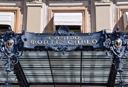 montecarlo: Casino of Monte-Carlo, Monaco principality, french riviera Editorial