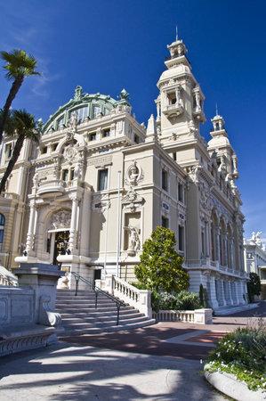 montecarlo: Opera of Monte-Carlo, Monaco principality, french riviera