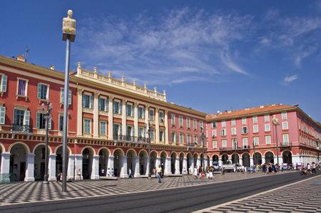 riviera: Place Massena, Nice, French riviera, France