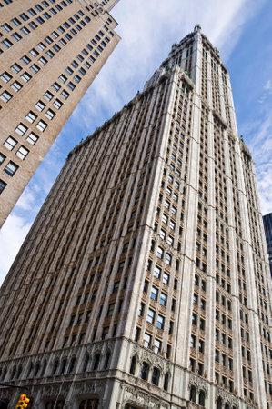 newyork: The Woolworth building, New York City, USA Editorial