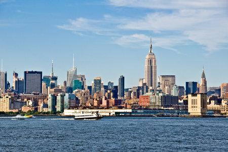 horizon de New York avec l'Empire State Building, New York City, États-Unis Éditoriale