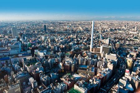 birdeye: Aerial view of Tokyo from Ikebukuro district