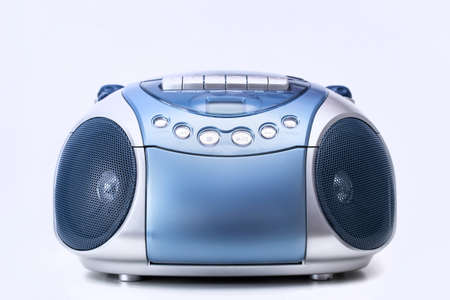 cd player: CD and cassette player Stock Photo