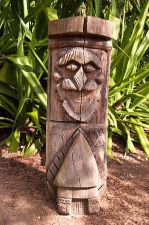totem: Kanak totem pole, New Caledonia