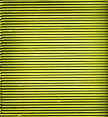 furrows: Green corrugated cardboard background