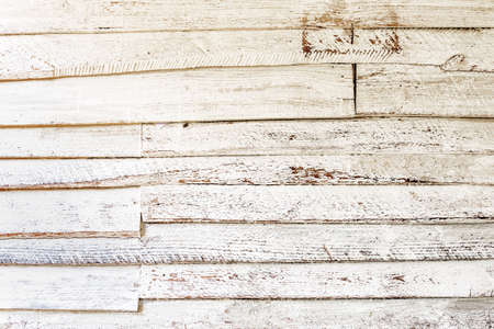 chipped: Old white wood planks background