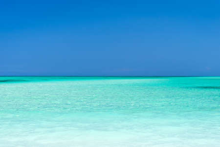 turquoise water: Turquoise water ans sky, Cayo Levisa, Cuba