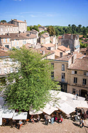 saint emilion: Village of Saint Emilion, Bordeaux, France Editorial