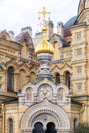 Church of the Assumption of the Blessed Virgin Mary, St Petersburg Russia