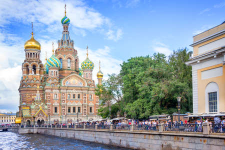 st petersburg: Church of the Savior on Spilled Blood, St Petersburg Russia