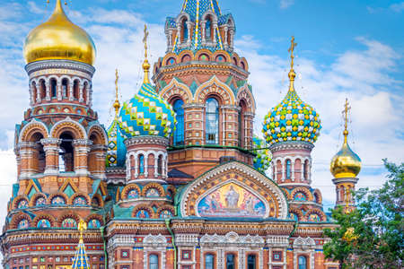 Church of the Savior on Spilled Blood, St Petersburg Russia