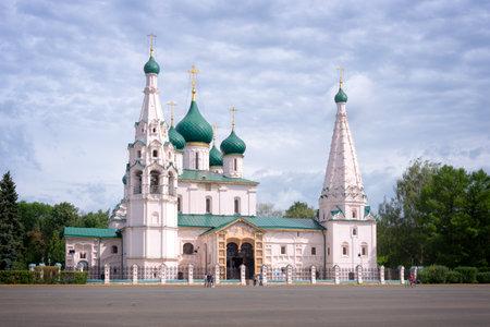 golden ring: Church of Elijah the Prophet, Yaroslavl, Golden ring, Russia