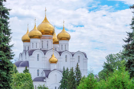golden ring: Assumption Cathedral, Yaroslavl, Golden ring, Russia