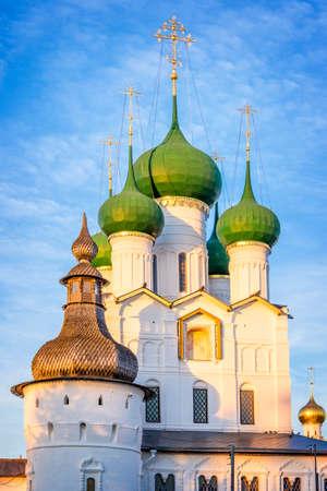 evangelist: Rostov kremlin, Church of St John the Evangelist, Golden Ring, Russia Stock Photo