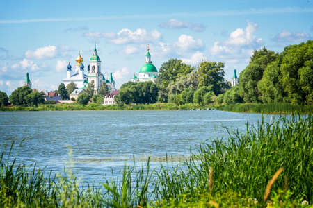 jacob: Lake Nero and monastery of St Jacob Savior, Rostov, Golden ring Russia