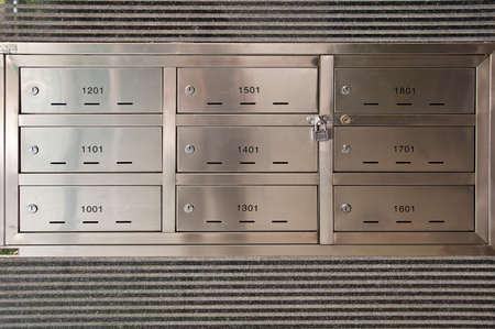 Apartment Mailbox Stock Photos & Pictures. Royalty Free Apartment ...