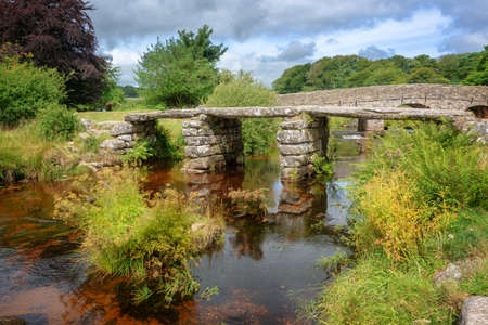 Two Bridges in Dartmoor, Devon, UK Stock Photo