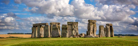 Panorama of Stonehenge, United Kingdom