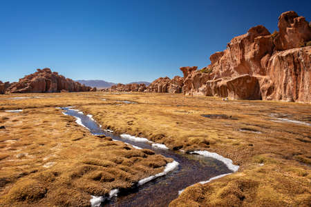Valley of rocks in Bolivia