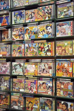 Display of videos of indian Bollywood movies in Singapore Editorial