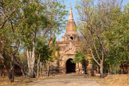 Temple in Bagan, Burma, Myanmar Stock Photo