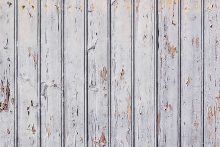 White painted wooden planks background