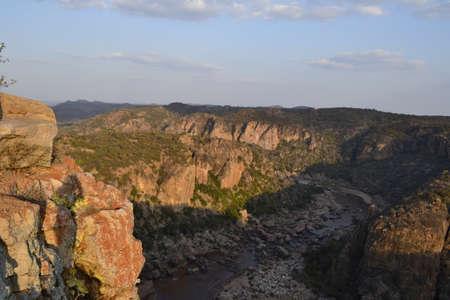 lanner: Lanner gorge, makuleke, Kruger