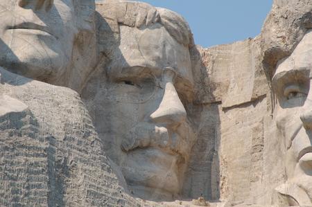 Theodore Roosevelt in Mount Rushmore National Memorial - South Dakota