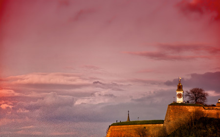 Petrovaradin fortress 版權商用圖片