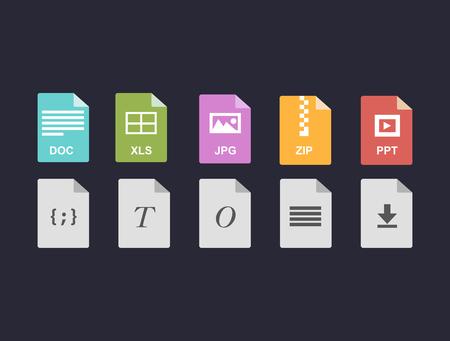 Vecror File formats
