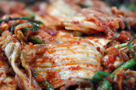 palatable: kimchi Stock Photo