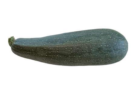 calabacin: calabacín aislado Foto de archivo