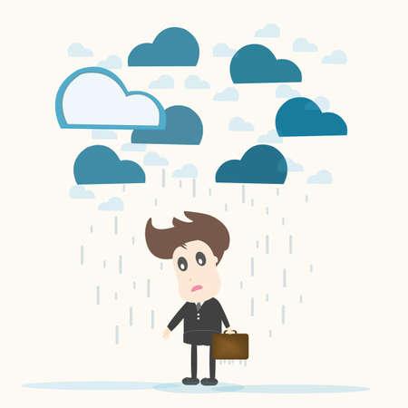preoccupation: despair,Businessman