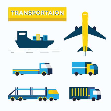 transportation facilities: Transportation Icons