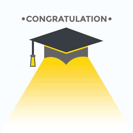 축하 모자, 교육.