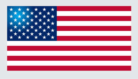 flag background: American Flag for Independence Day. Vector illustration.
