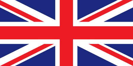 new england: British flag Illustration