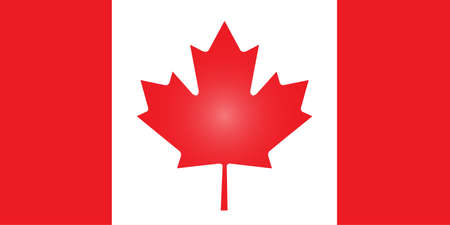 Canada flag Çizim