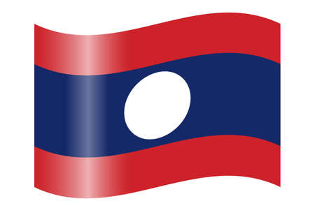lao: Flag of Laos
