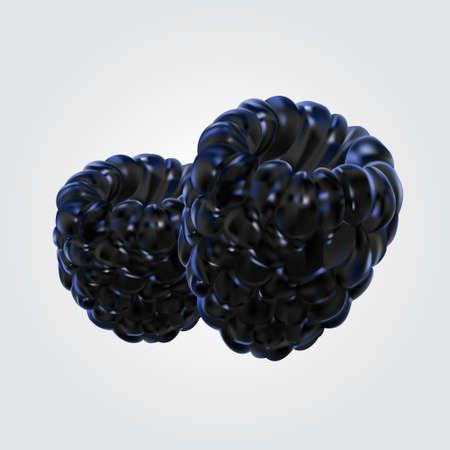 illustration of  blueberry Stok Fotoğraf - 62113915