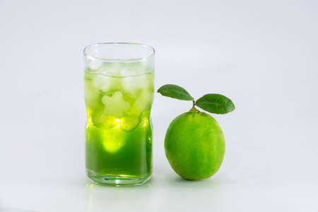 cocktail mixer: lime and lime juice