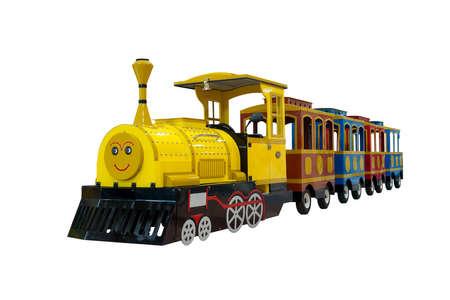 おもちゃの電車の背景デザイン
